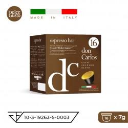 Don Carlos Espresso Bar-16 бр. капсули