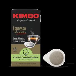 KIMBO ESPRESSO 100% ARABICA - 18 дози