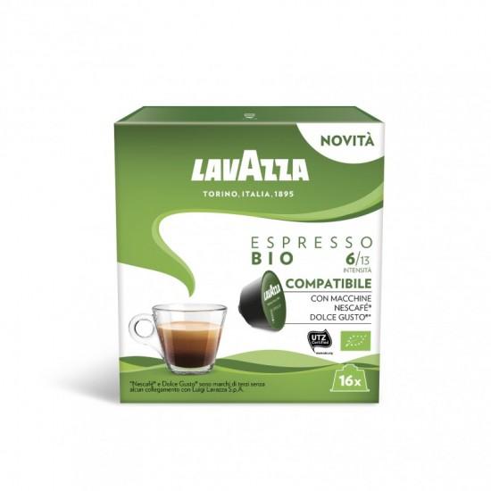 Lavazza Espresso Bio - 16 капсули, съвместими с Dolce Gusto