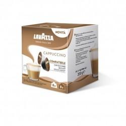 Кафе капсули Lavazza Cappuccino съвместими със система Dolce Gusto, 16 бр.